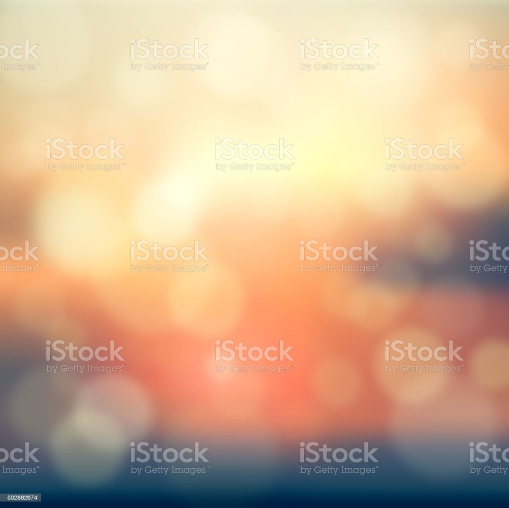 Summer abstract blurred stock photo