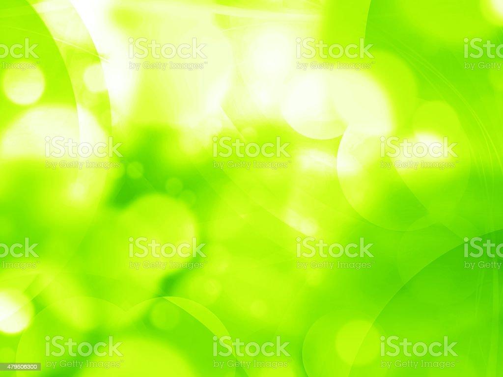 Lato tło zielony świeży tle Ilustracja – zdjęcie