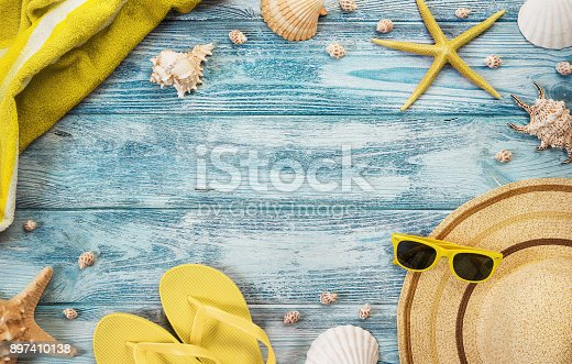 699960484 istock photo Summer accesories background 897410138