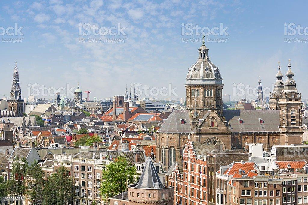 Summer Amsterdam stock photo