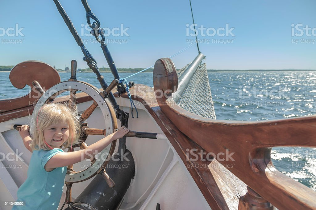 Summer and sea. stock photo