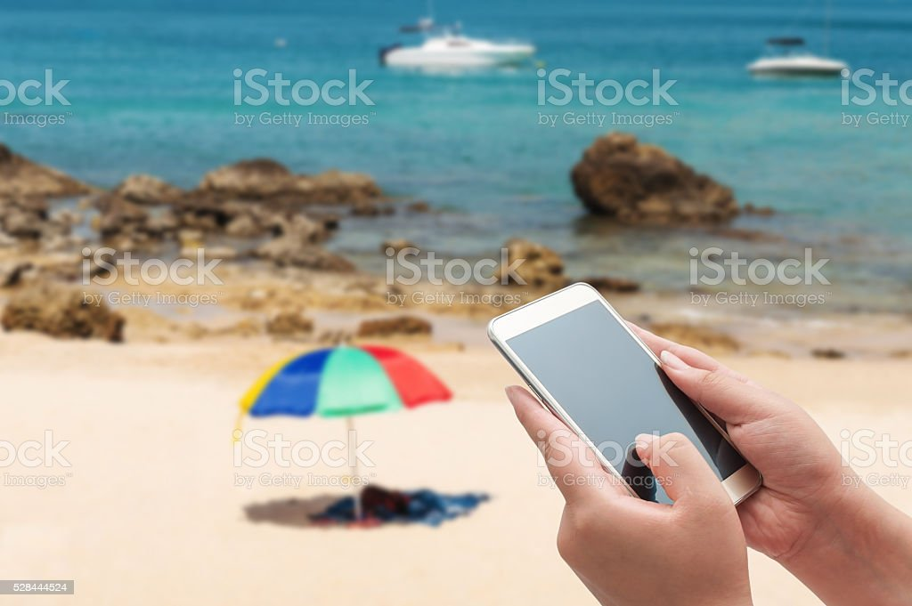 Summer and travel concept stock photo