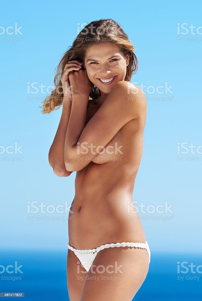 Summer, are you ready for me? stock photo