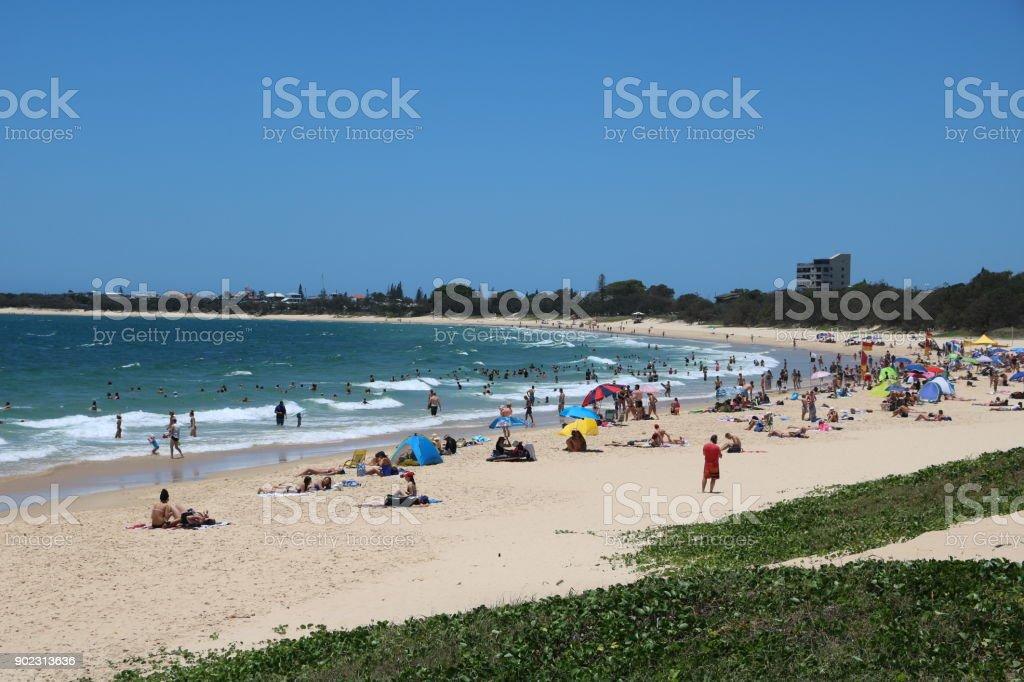 Summer at Sunshine Coast, Queensland Australia stock photo