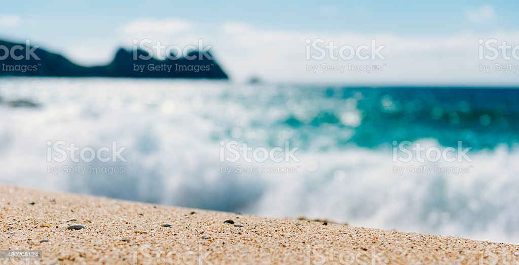 Summer at the Beach stock photo