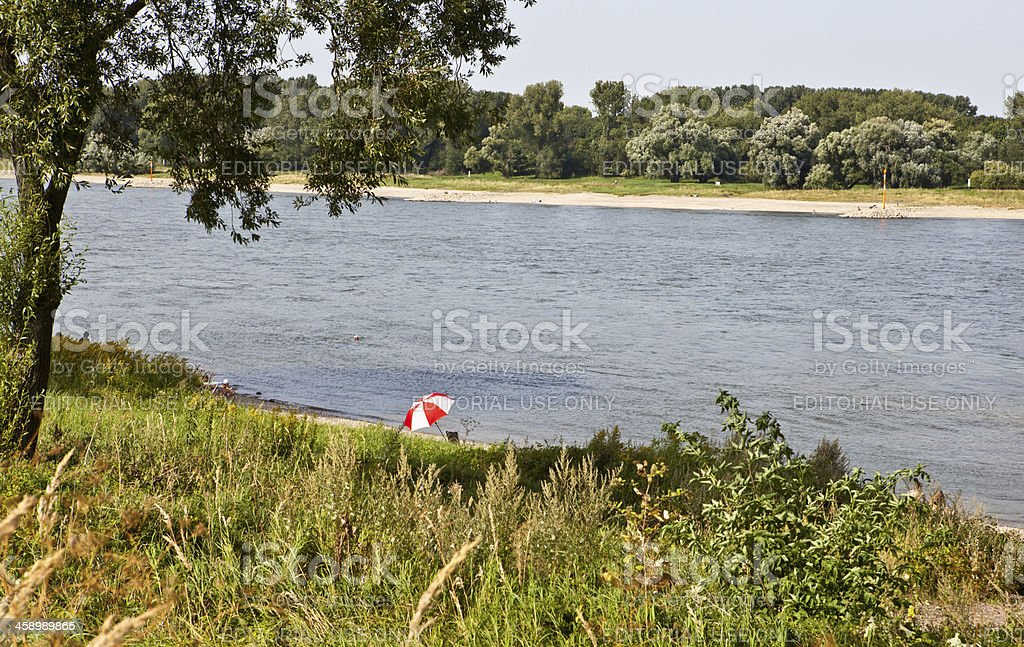 summer at the river royalty-free stock photo