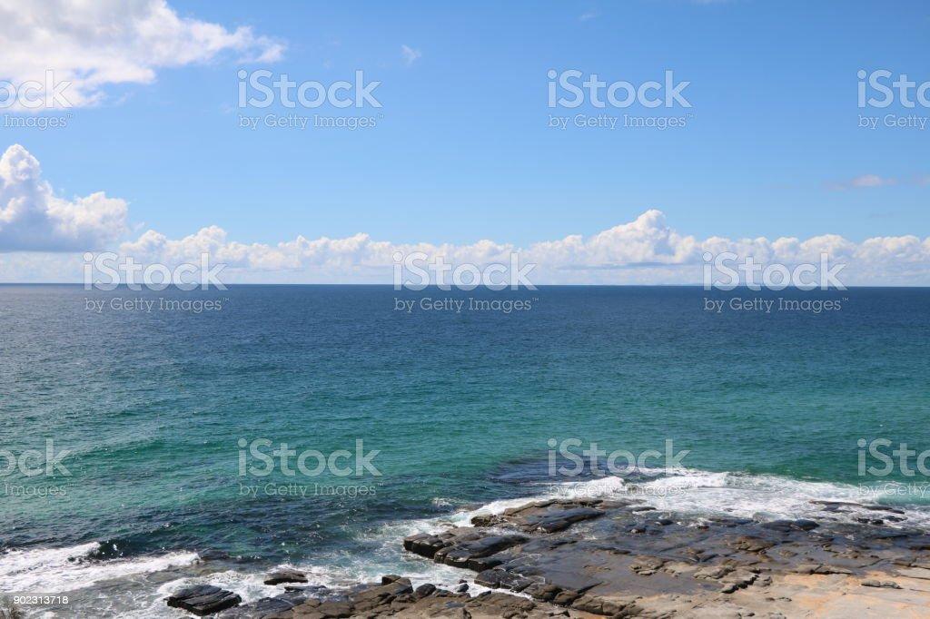 Summer at the Sunshine Coast in Queensland, Australia stock photo