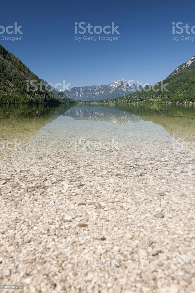 Summer Austria Lake Reflections (XXXL) royalty-free stock photo