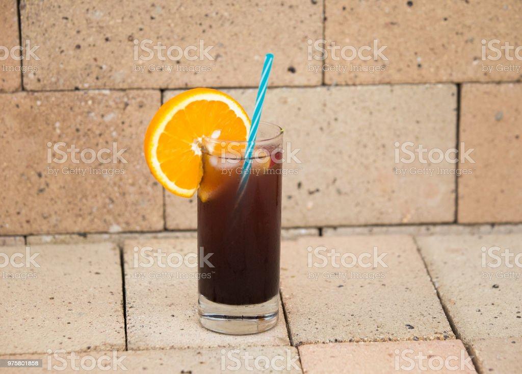 Sommer Hintergrund. Frischobst hausgemachte Limonade - Lizenzfrei Beere - Pflanzenbestandteile Stock-Foto