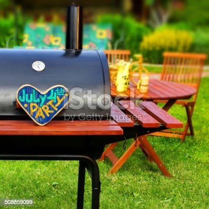 istock BBQ Summer Backyard Party Scene 508859099
