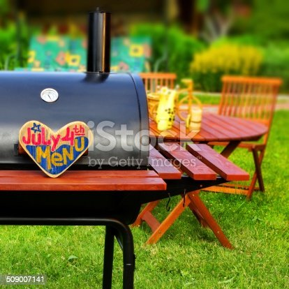 istock BBQ Summer Backyard Party Scene 509007141