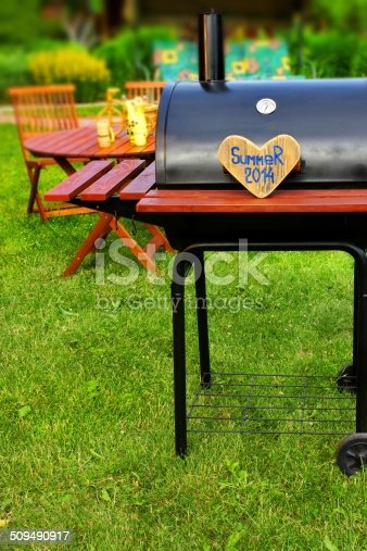 istock BBQ Summer Backyard Party Scene 509490917