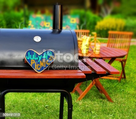 istock BBQ Summer Backyard Party Scene 509491313