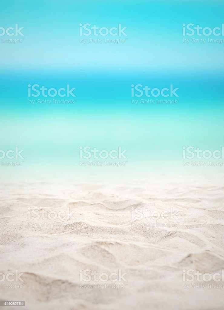 Summer beach background. stock photo