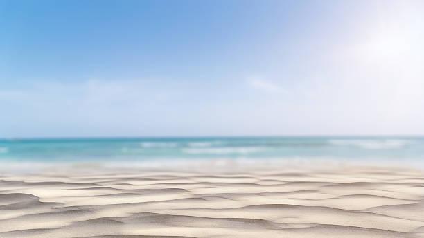 Summer Beach Background stock photo