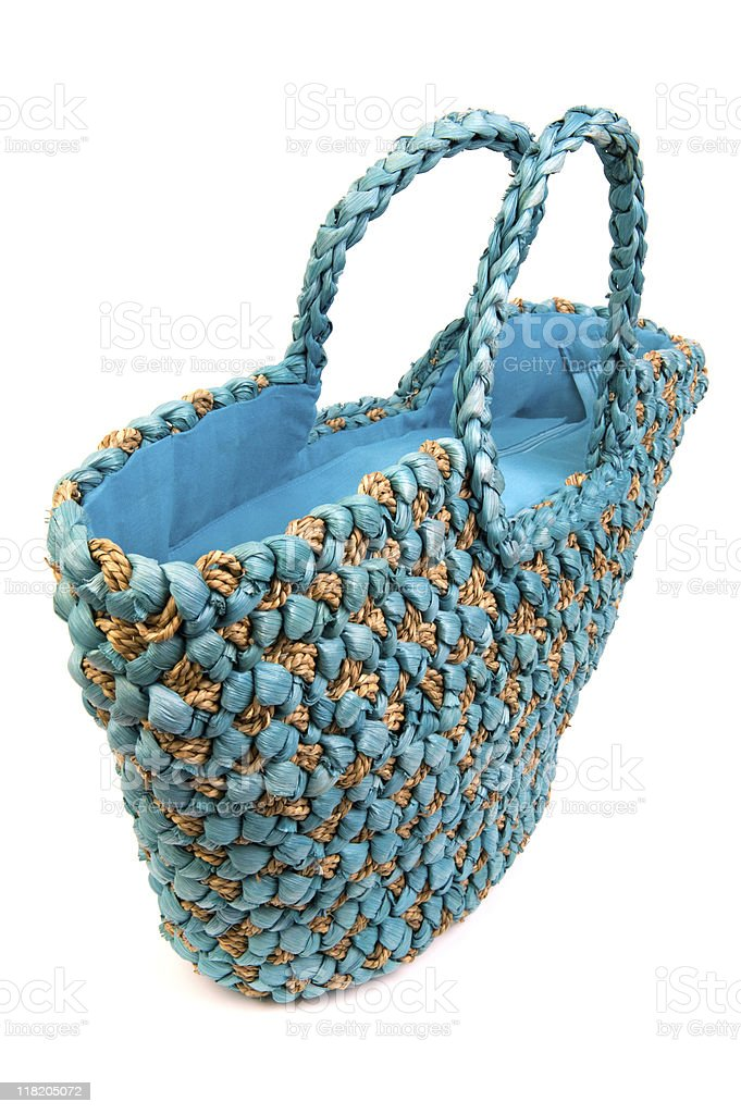 Summer beach bag royalty-free stock photo