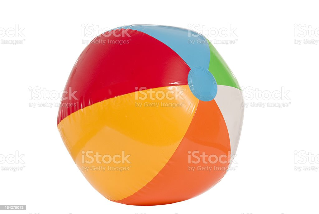 Summer Beach Ball royalty-free stock photo