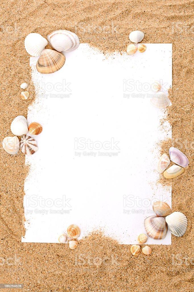 Summer beach concept stok fotoğrafı