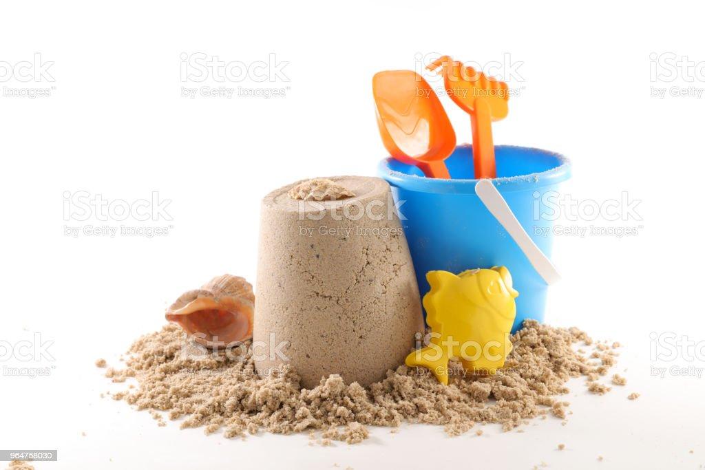 summer beach concept royalty-free stock photo