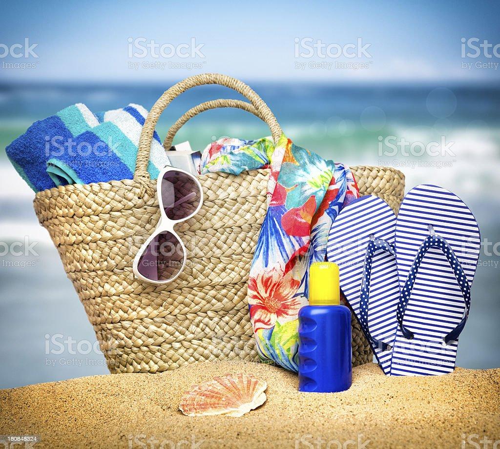 Summer Beach Holiday stock photo