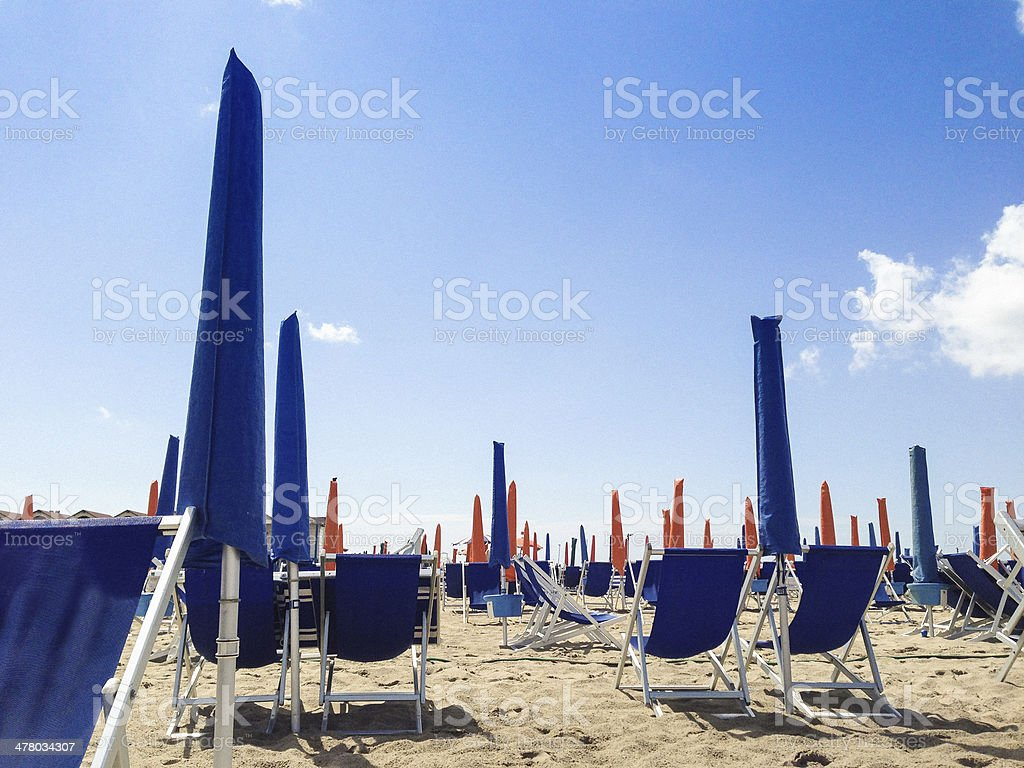 Summer beach lidos resort royalty-free stock photo