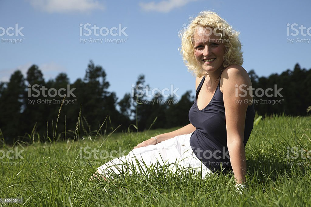 Summer Beauty royalty free stockfoto