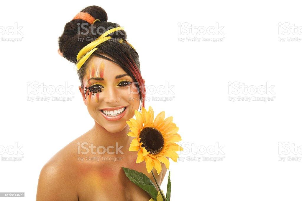 Summer Beauty Portrait royalty-free stock photo