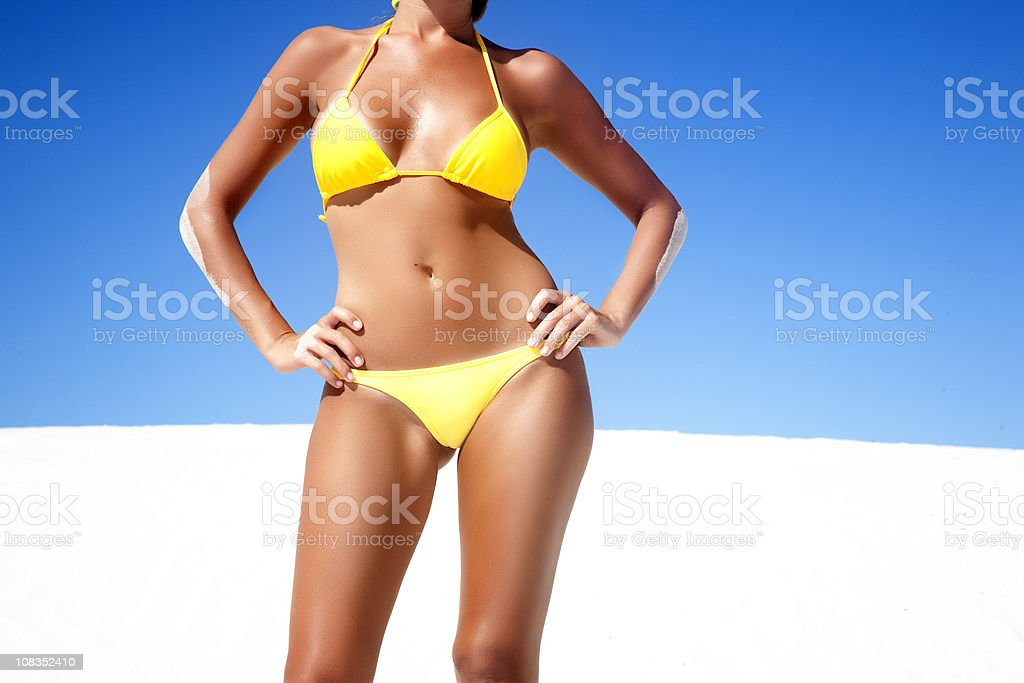 Summer Blue stock photo