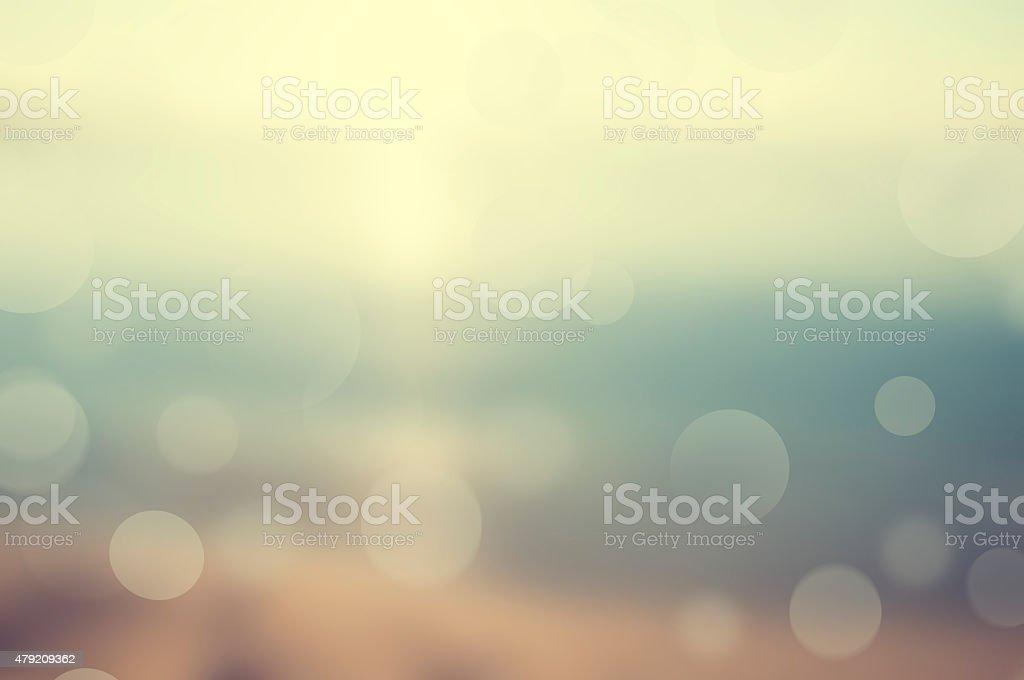 Summer  Blurred Background stock photo