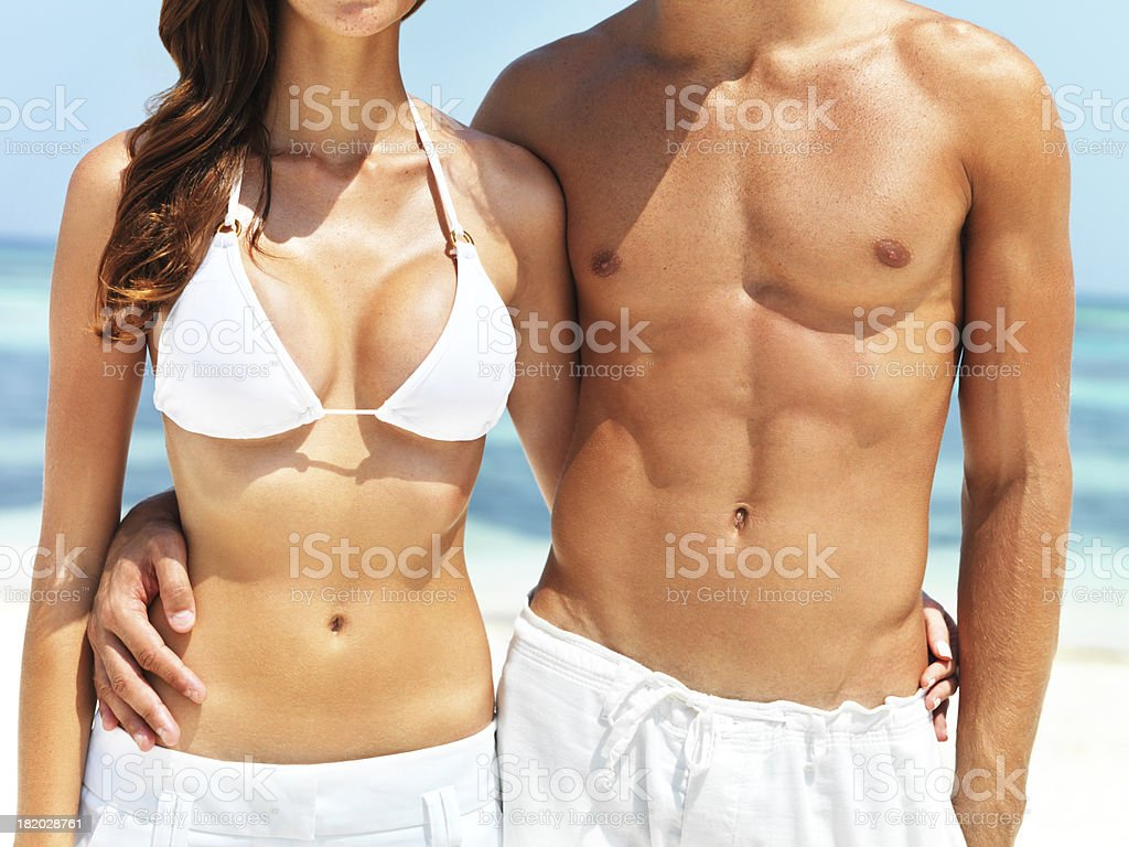 Summer bodies stock photo
