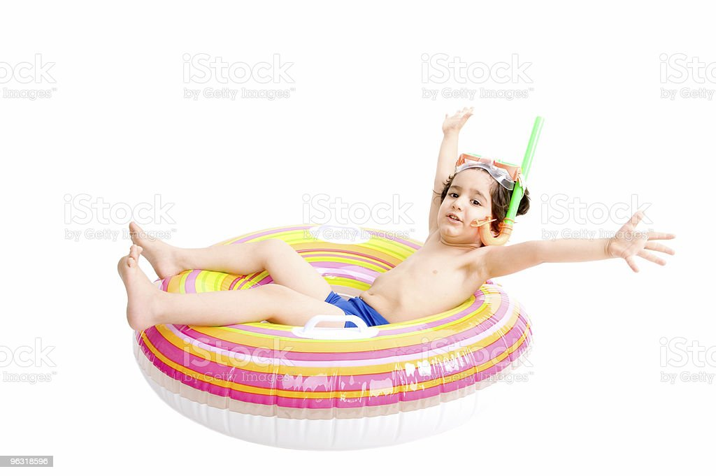 Summer boy royalty-free stock photo