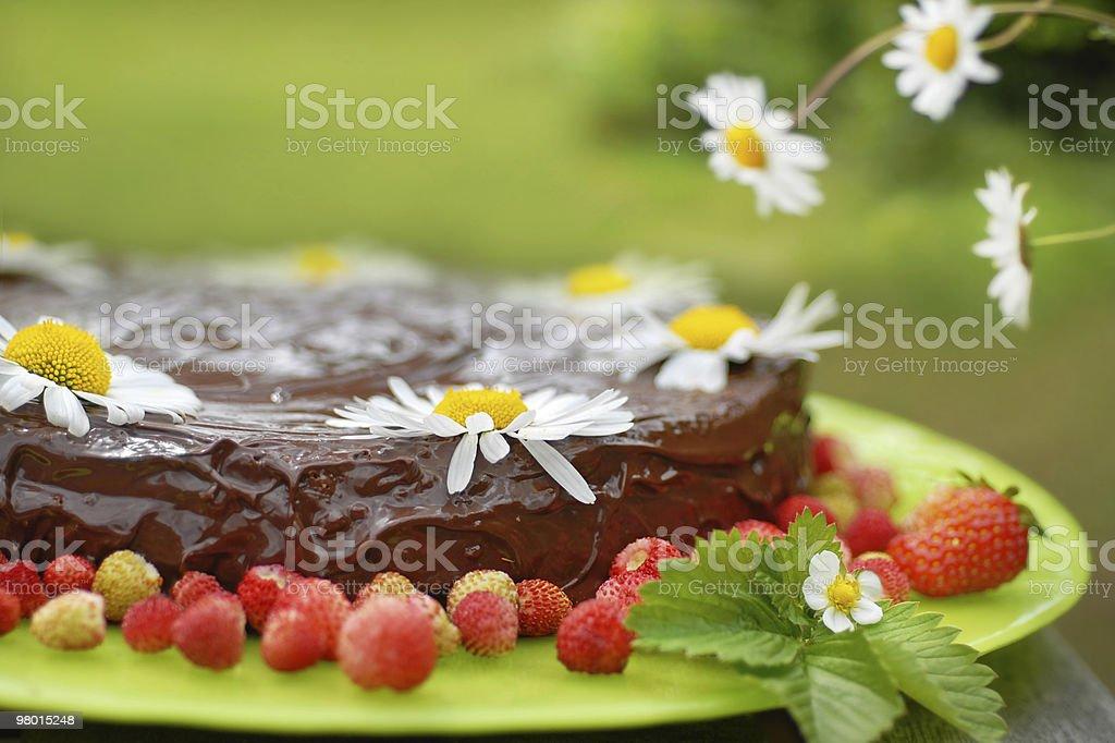 Torta estate foto stock royalty-free