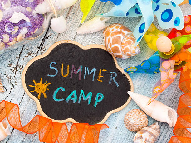 Summer Camp stock photo