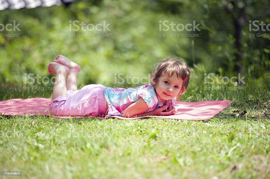 Summer Child royalty-free stock photo