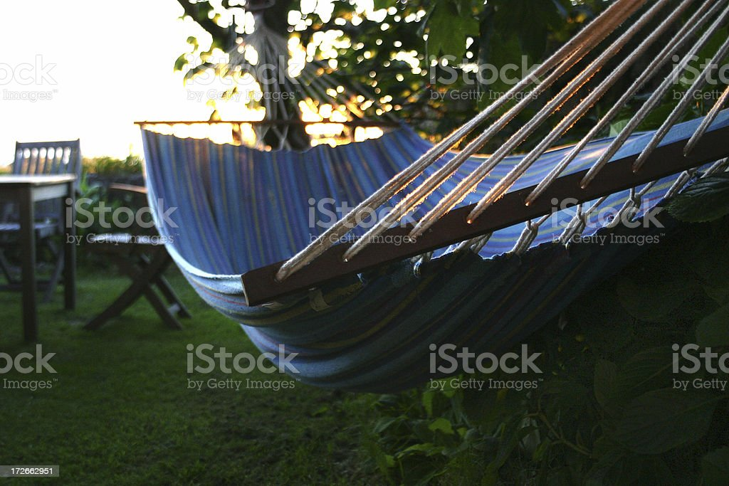 Summer Chill Out stock photo