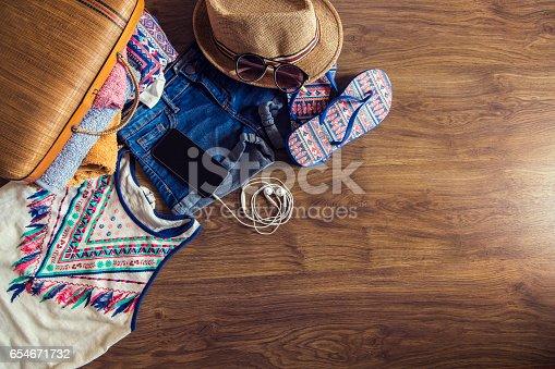 654680306 istock photo Summer clothing 654671732