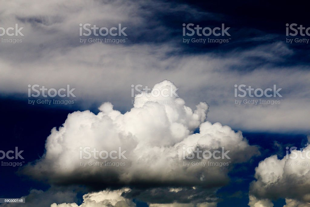 Летний clouds Стоковые фото Стоковая фотография