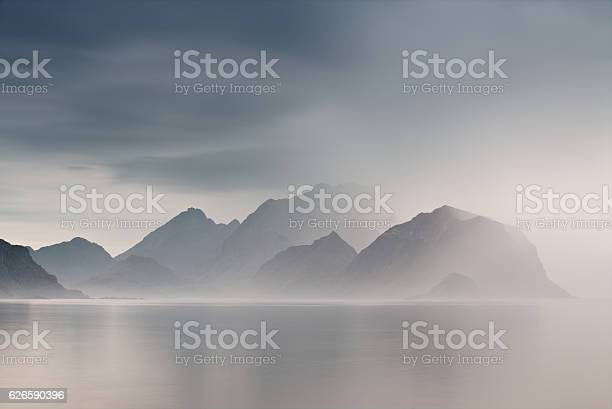 Summer cloudy lofoten islands norway misty fjords picture id626590396?b=1&k=6&m=626590396&s=612x612&h=krp2m3bemzspbudpazmjsisxxrske9kyiw17ubo7pq8=
