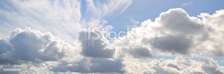 summer cloudy sky