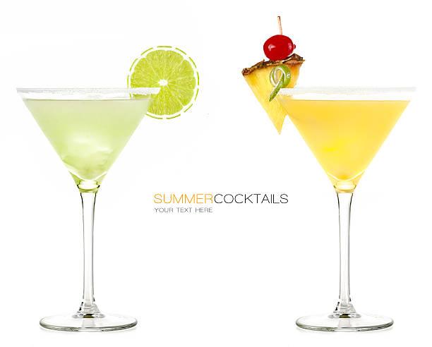 Cocktail d'été. Boisson glacée - Photo
