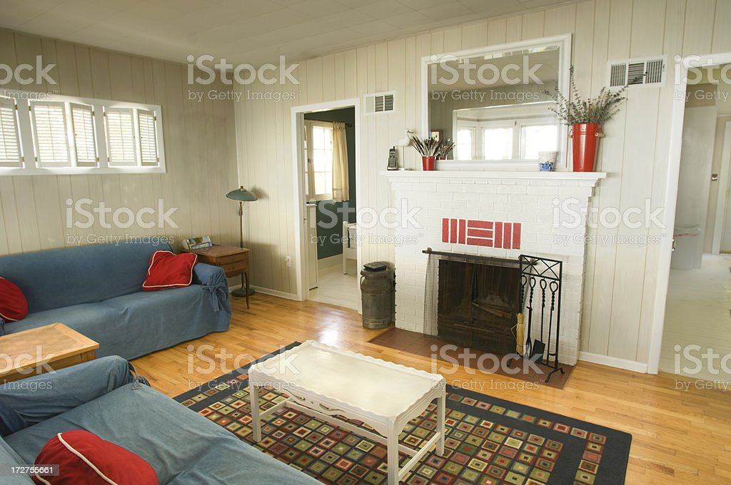 Summer Cottage At The Lake royalty-free stock photo
