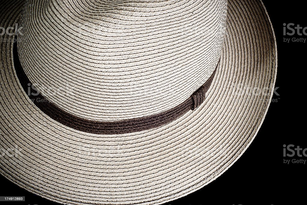 Summer cotton hat royalty-free stock photo