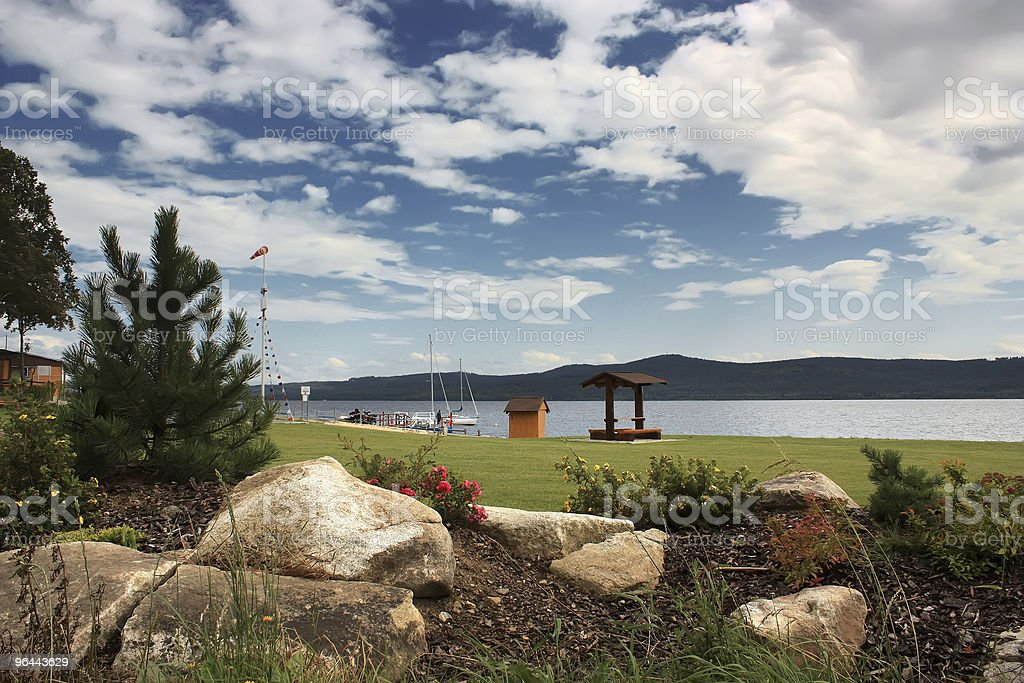 Summer country - Royalty-free Achtergrond - Thema Stockfoto