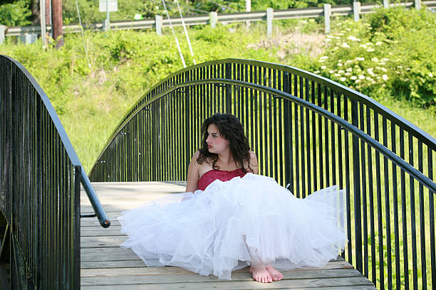 summer crinoline - petticoat stock pictures, royalty-free photos & images