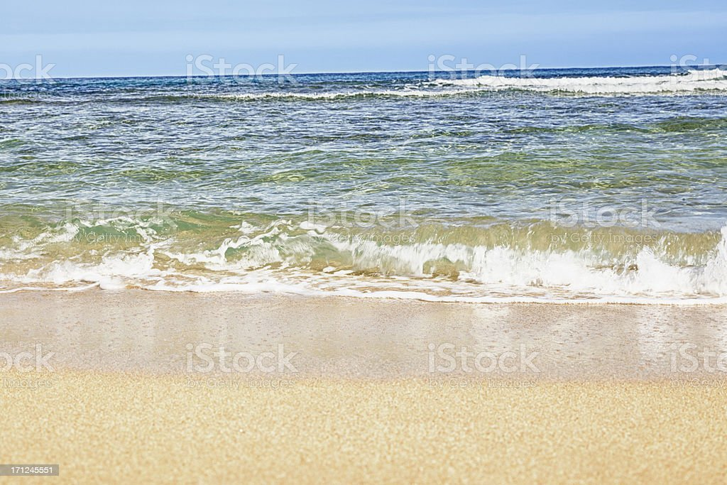 Summer Day at the Beach stock photo