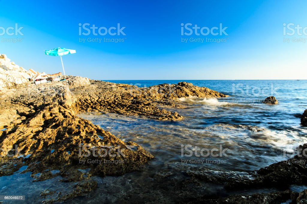 summer day in Croatia royalty-free stock photo