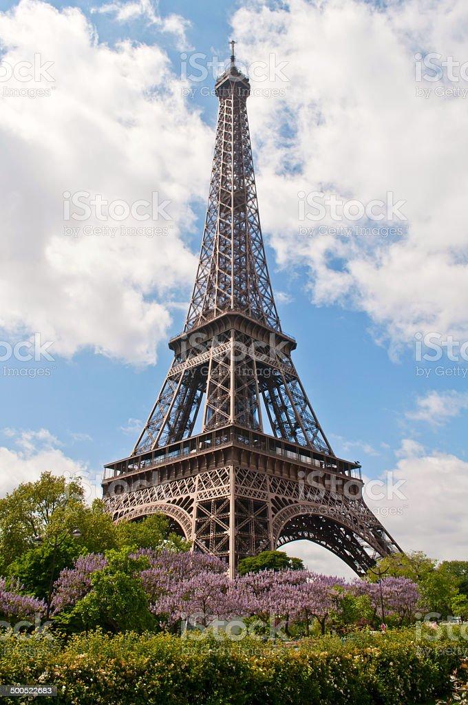 Summer day in Paris stock photo