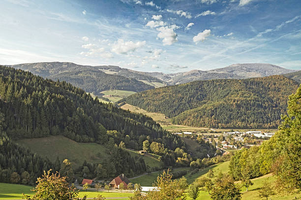 Summer day in the Kinzig Valley in the Black Forest – Foto