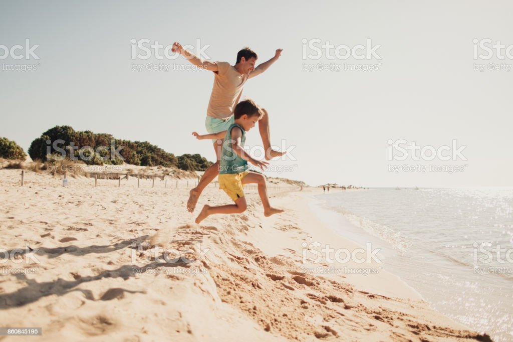 Summer day on the beach - fotografia de stock