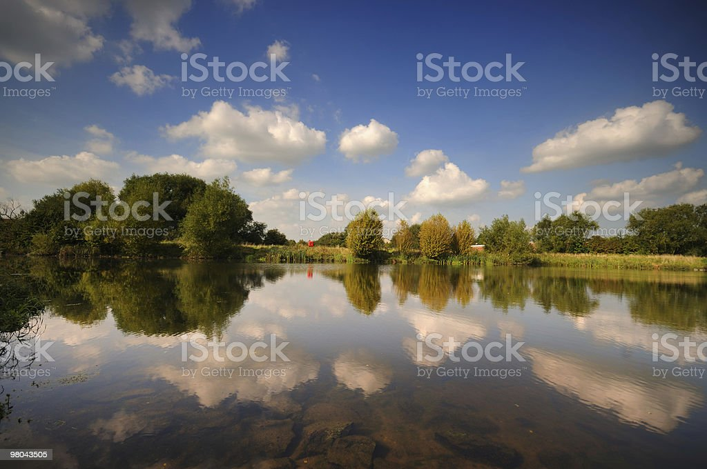 Summer Day Reflections royalty-free stock photo